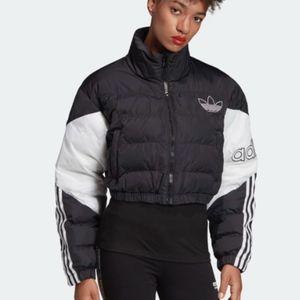 adidas Jackets & Coats - ''ISO'' adidas cropped puffer jacket